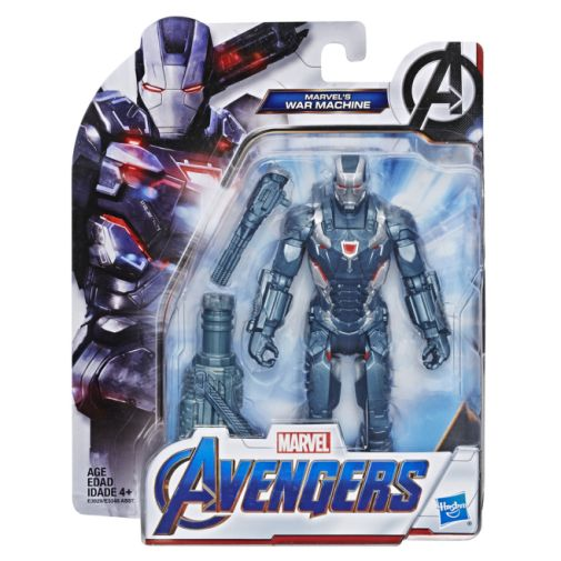 MARVEL AVENGERS ENDGAME WAR MACHINE 6 INCH FIGURE in pck
