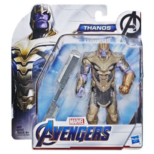 MARVEL AVENGERS ENDGAME WARRIOR THANOS DELUXE FIGURE in pck