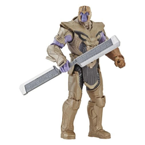 MARVEL AVENGERS ENDGAME WARRIOR THANOS DELUXE FIGURE oop