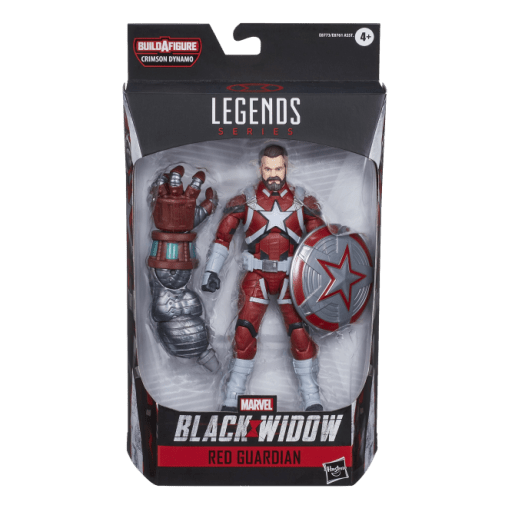 Hasbro Marvel Legends - Red Guardian boxed