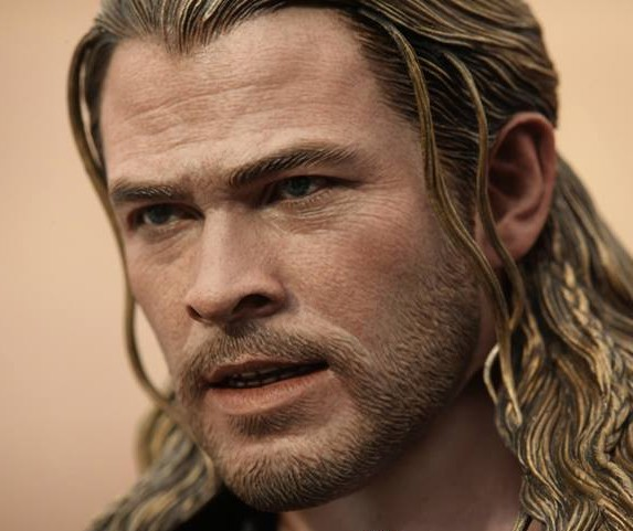 Hot Toys Thor The Dark World Chris Hemsworth Head Sculpt