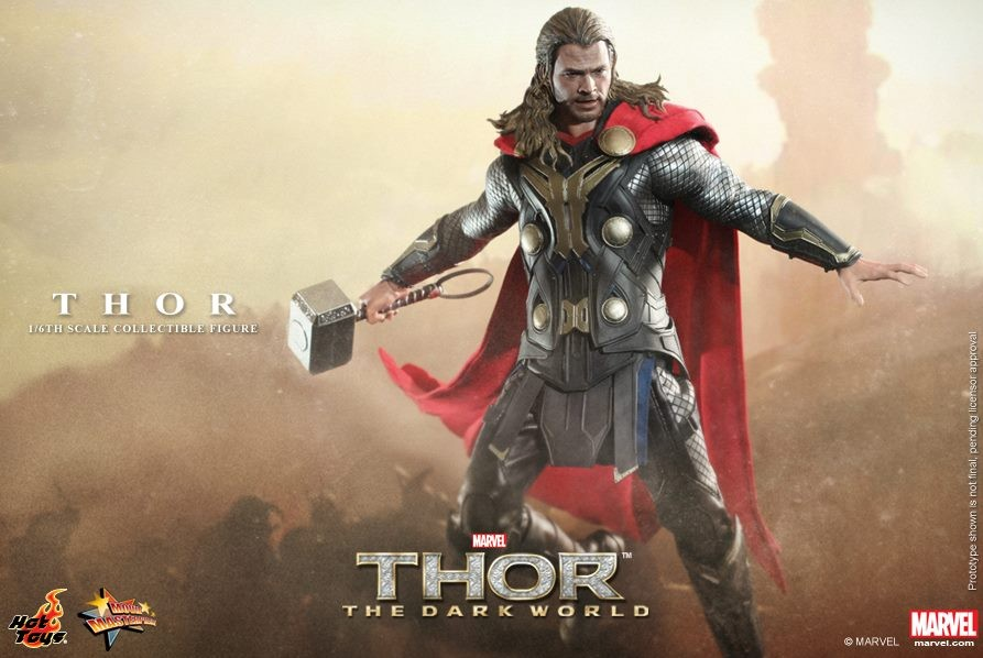 MMS 224 Hot Toys Thor 2 Movie Masterpiece Series Figure