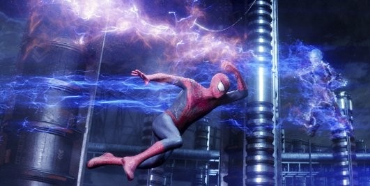 Amazing Spider-Man 2 Electro Screenshot CGI Effects