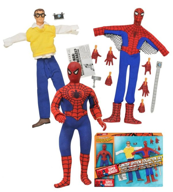 "Diamond Select Retro Spider-Man 8"" Figure Revealed ..."