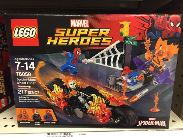 LEGO Spider-Man Ghost Rider Team-Up Set Box