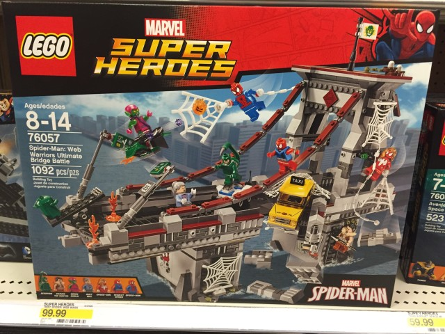 LEGO Spider-Man Web Warriors Ultimate Bridge Battle Set Box