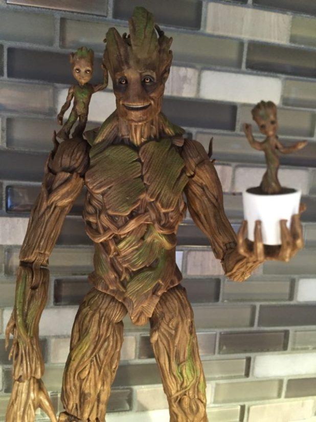 Marvel Legends Groot Young Groot Dancing Baby Groot