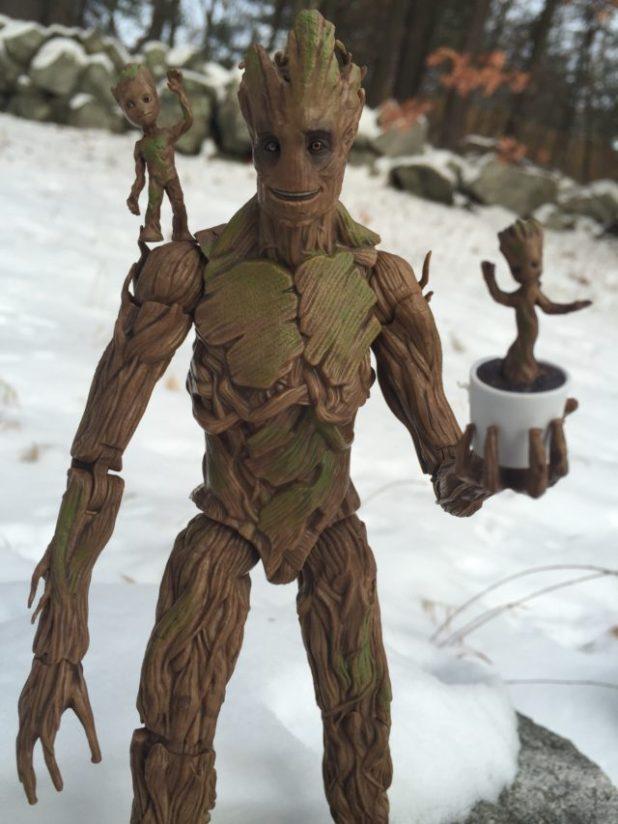 Marvel Legends Groot Evolution Figures Review Photos