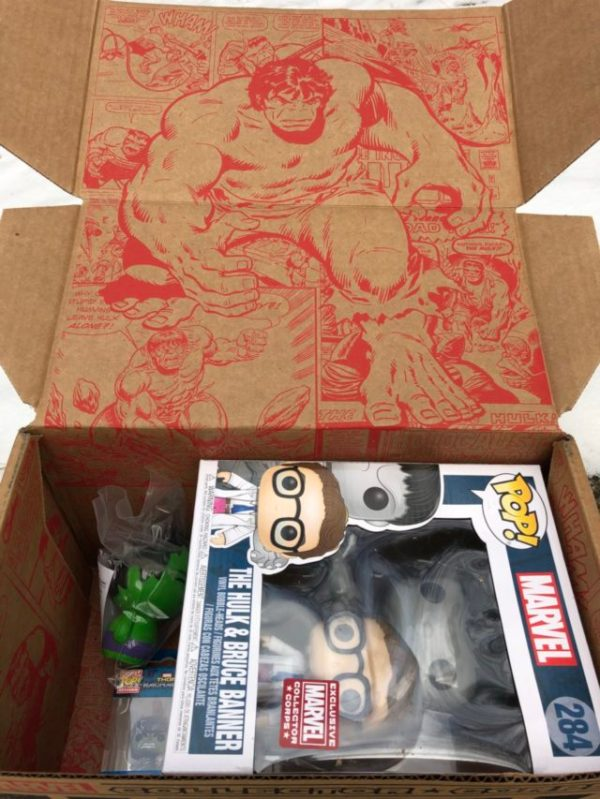 Funko Marvel Collector Corps Hulk Box Review & Spoilers ...