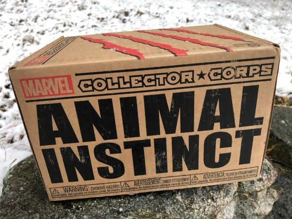 REVIEW: Funko Marvel Collector Corps Animal Instinct Box ...