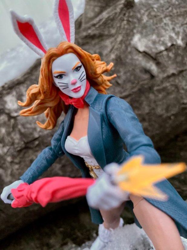 Review Hasbro White Rabbit Marvel Legends Spider-Man Figure