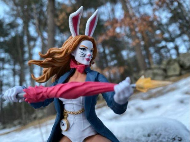 White Rabbit Marvel Legends 2020 Action Figure Firing Umbrella Gun