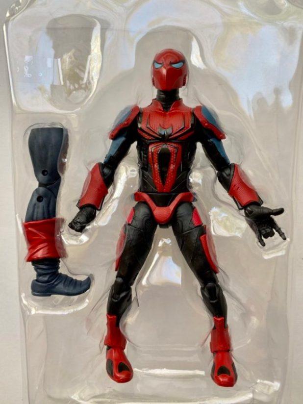 Spider-Armor Mark III Spider-Man Legends Figure with Web Effect and Demogoblin BAF Leg