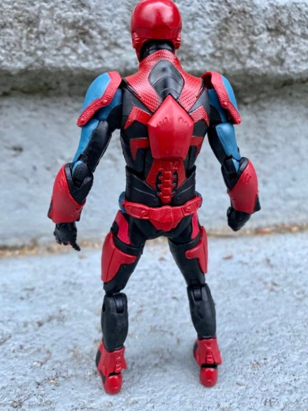PS4 Spider-Man Spider Armor Mark III Action Figure Back