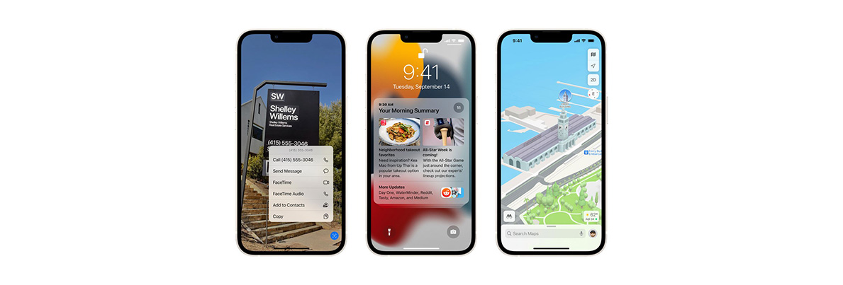 Apple New Features in iOS 15