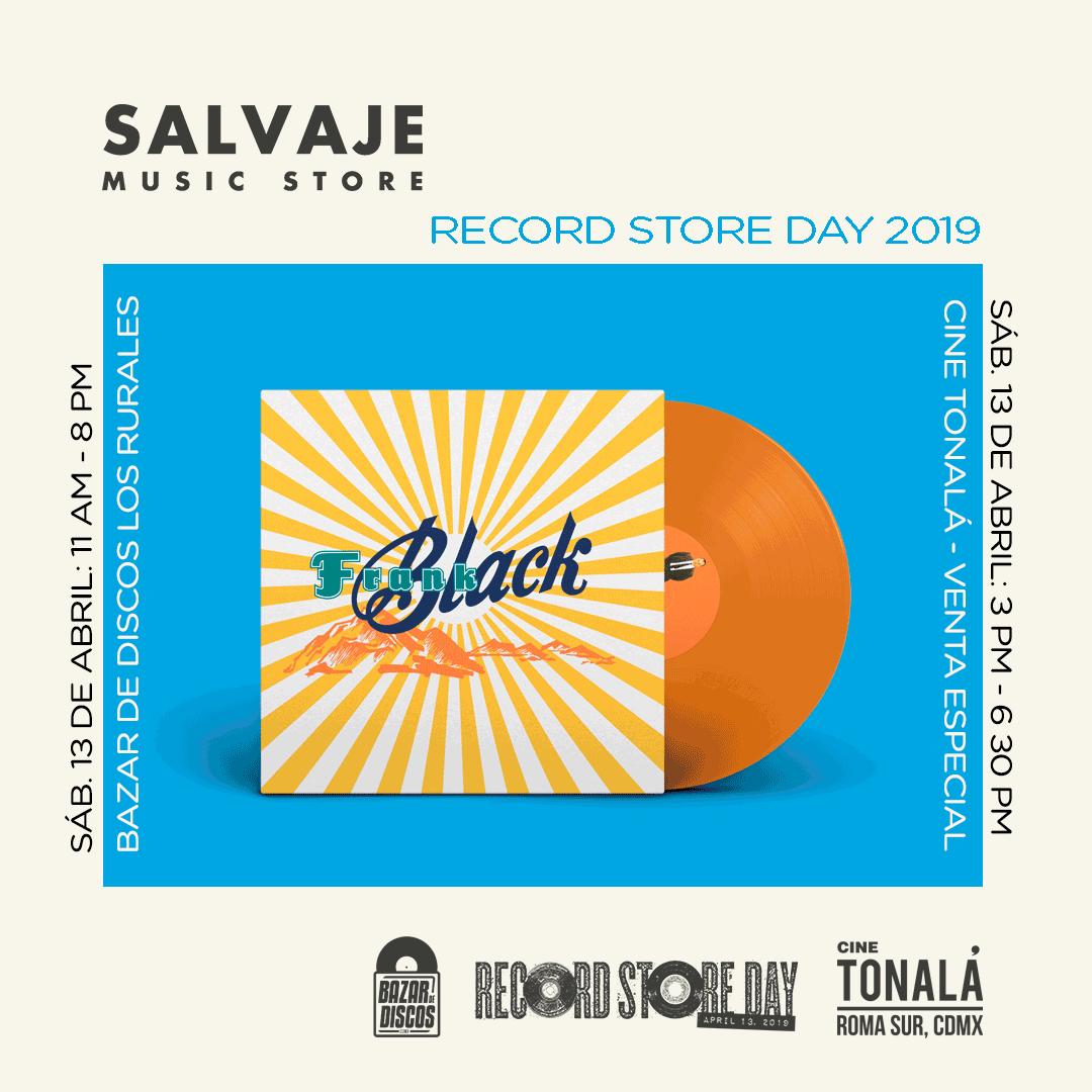 Black, uno de los lanzamientos de Salvaje Music Store por el Record Store Day.