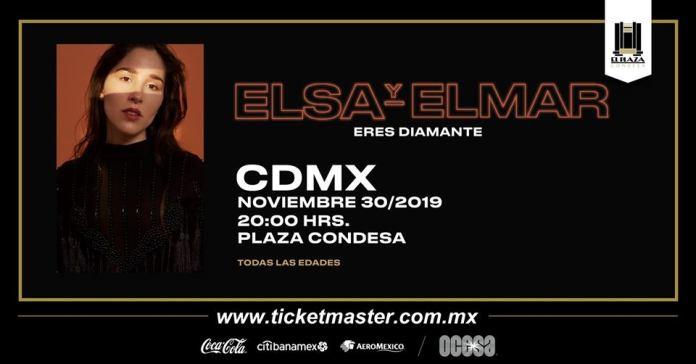 El sa y Elmar en El Plaza Condesa, 30 de noviembre.