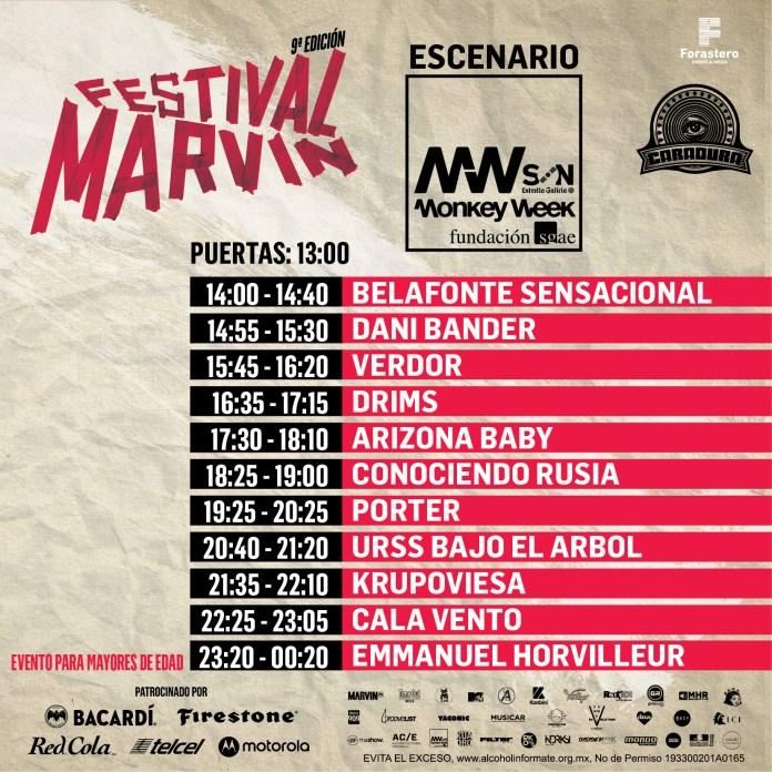 Escenario Monkey Week - Festival Marvin