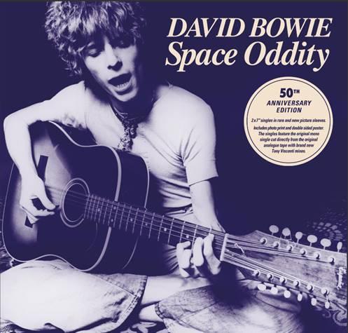 Parlaphone aniversario Space Oddity boxset David Bowie