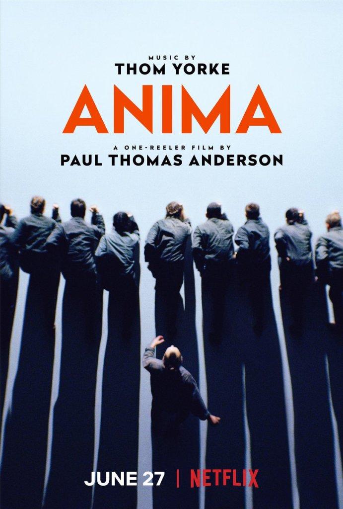 ANIMA, póster de Paul Thomas Anderson.