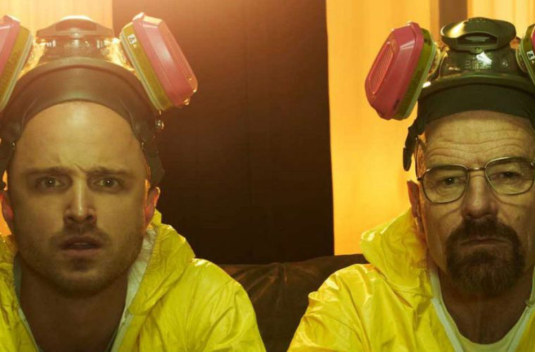 braking bad reunión pelicula Bryan Crnaston Aaron Paul