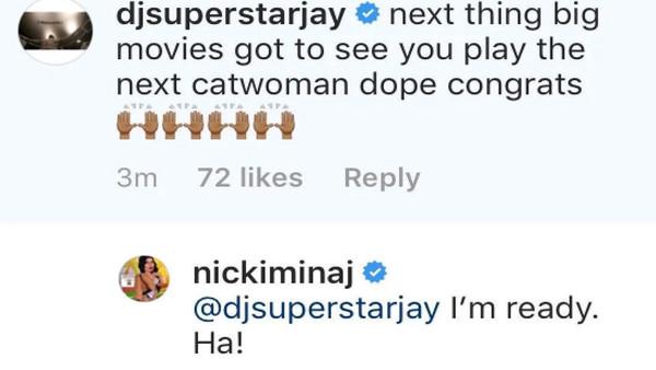 Niccki Minaj nueva Catwoman