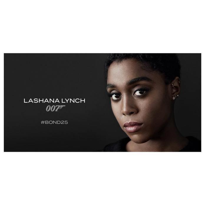 james bond mujer nuevo pelicula lashana lynch 007