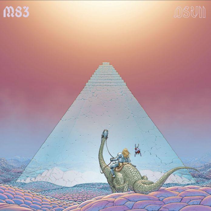 M83 Digital Shades Vol. 2 lanzmiento track album secnillo