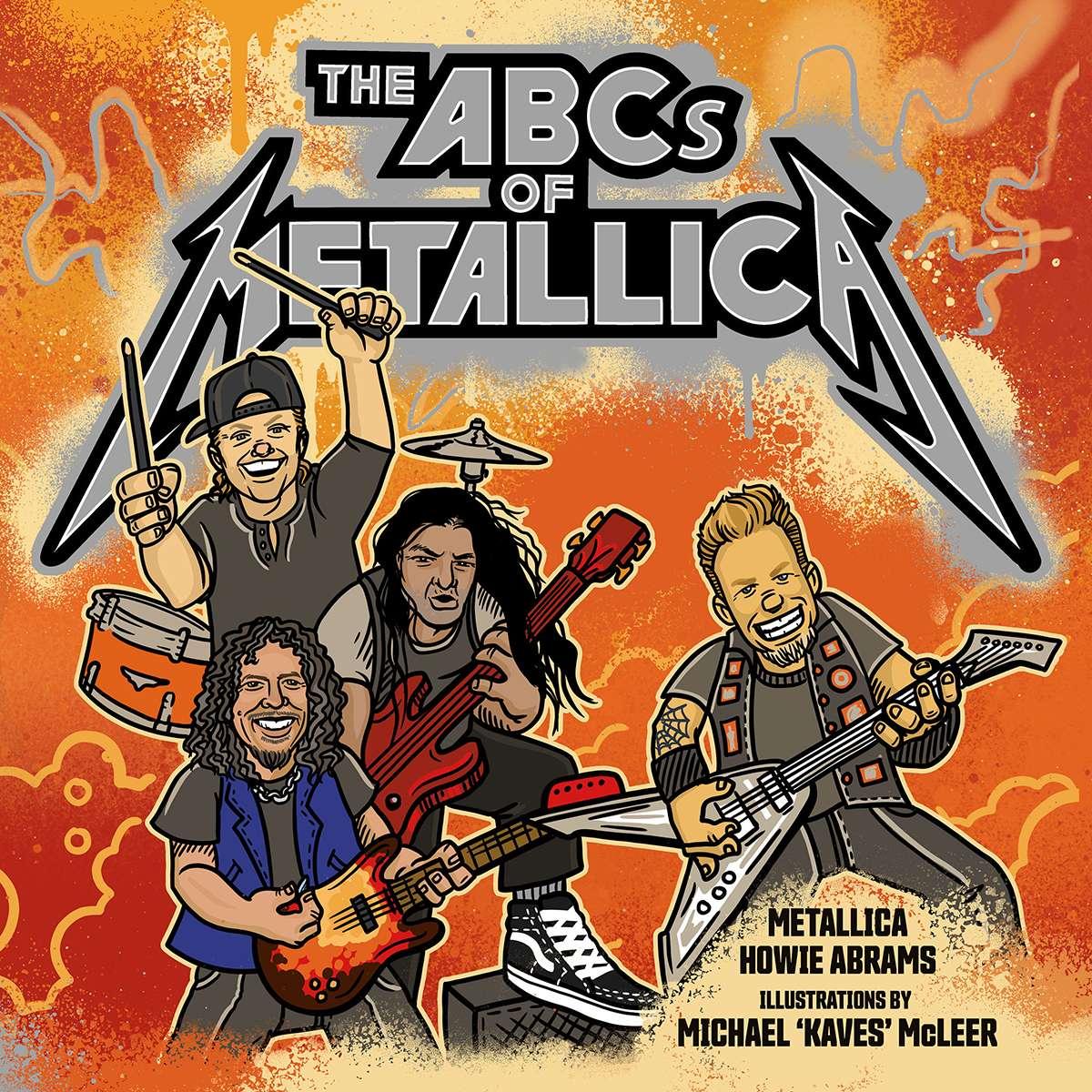 Metallica publicará un libro para niños