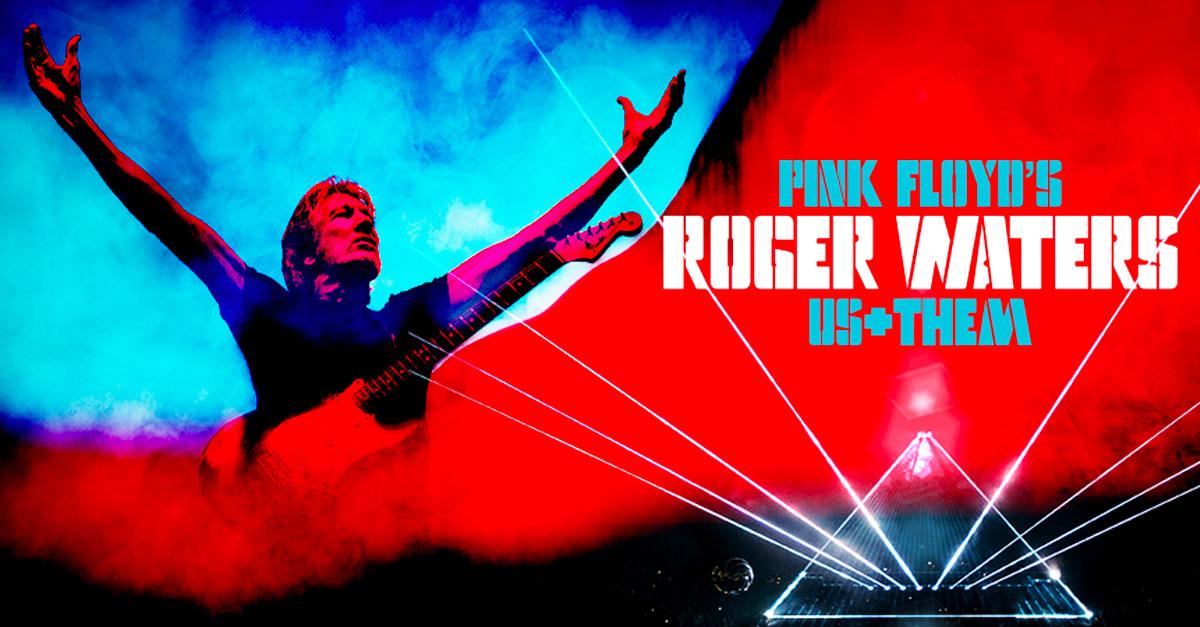 roger wagters us + them cinta cine concierto película gira rpesentación Pink Floyd