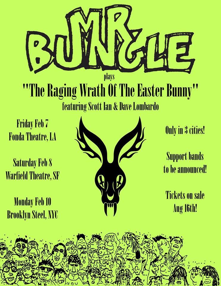 Veinte años después, podremos ver a Mr. Bungle en un escenario