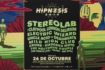 Hipnosis 2019: The Claypool Lennon Delirium, Uncle Acid & The Deadbeats y Crumb vienen a México