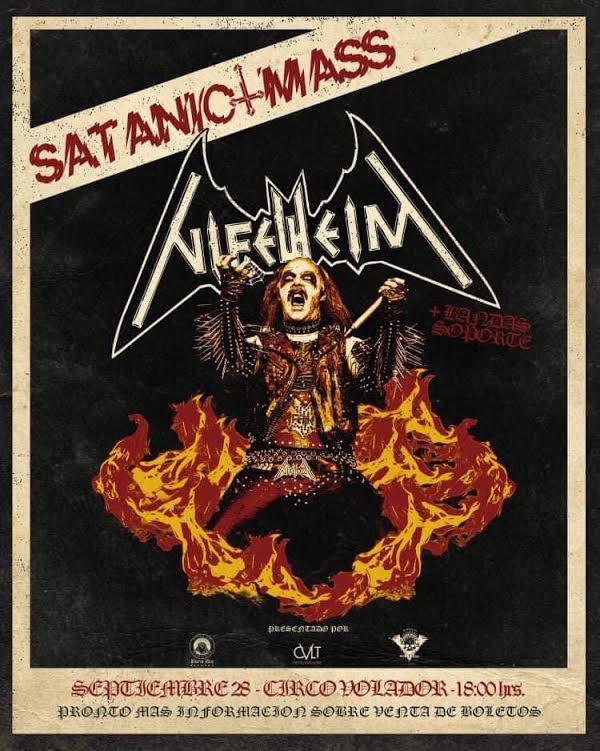 Nifelheim traerá a México su Misa Satánica