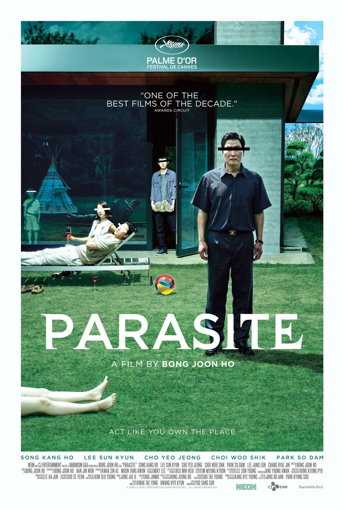 Parasite nueva película cinta Corea del Sur traíler adelanto Cannes