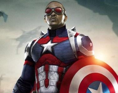 Anthony Mackie Capitán América