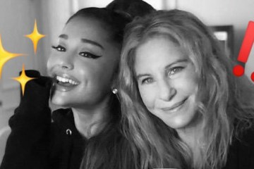 ariana grande barbra streisand video chicago 2019