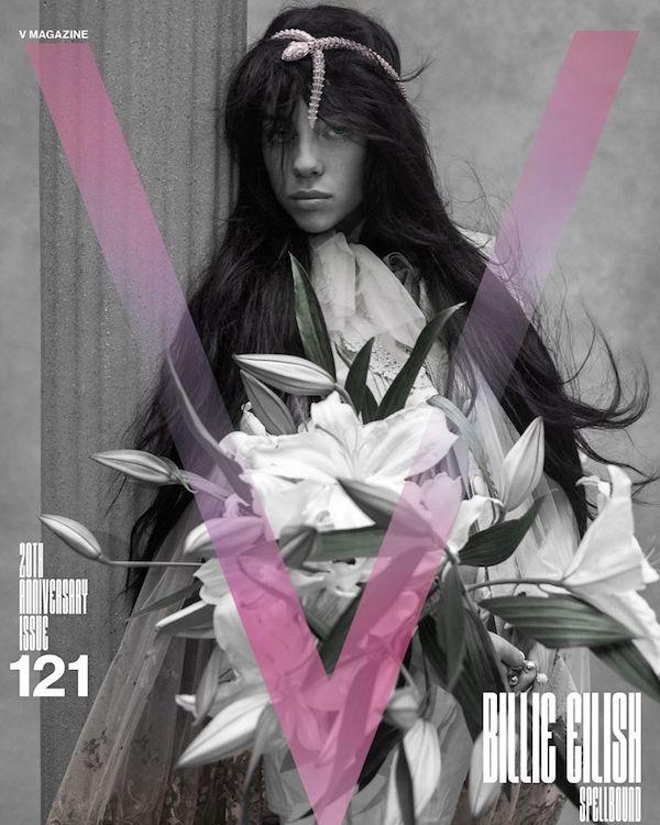 billie eilish novia billboard portada v magazine lil nas x