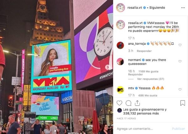rosalia-normani-vmas-instagram-foto-video-music-awards-2019