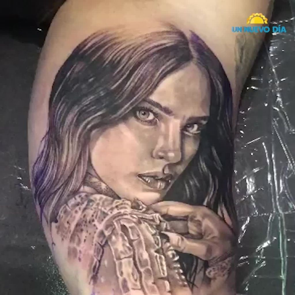tatuaje lupillo belinda foto romance boda
