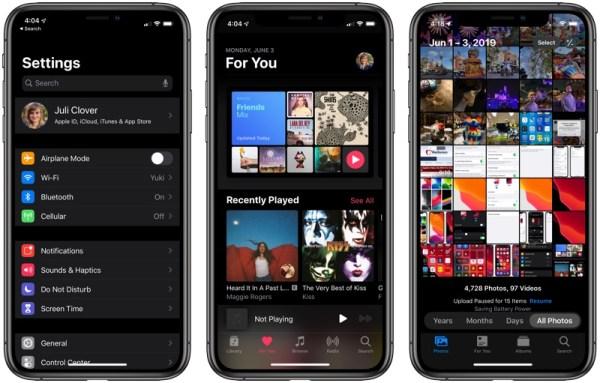 ios-13-novedades-apple-iphone-ipad-2019