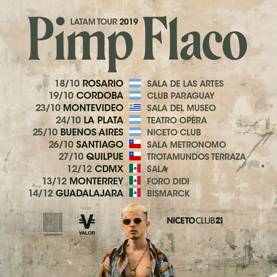Pimp Flaco prepara un tour por Latinoamérica ¡y México está incluido!