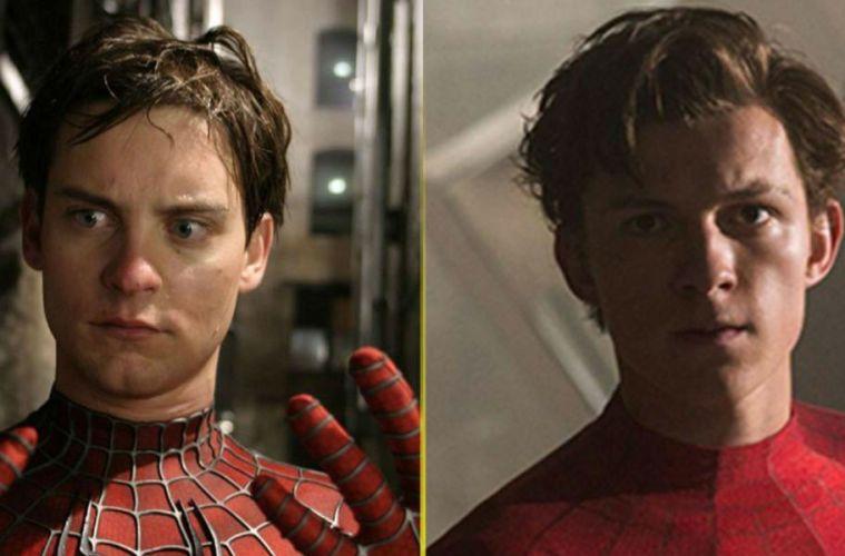 Tom Holland Tobey Maguire Spider-Man película cine