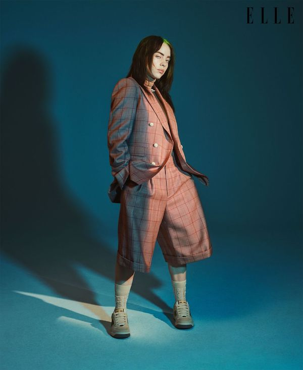 billie eilish fotos elle portada revista octubre 2019