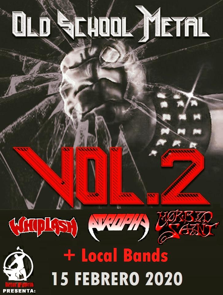 Whiplash, Atrophy y Morbid Saint tocarán juntos en México