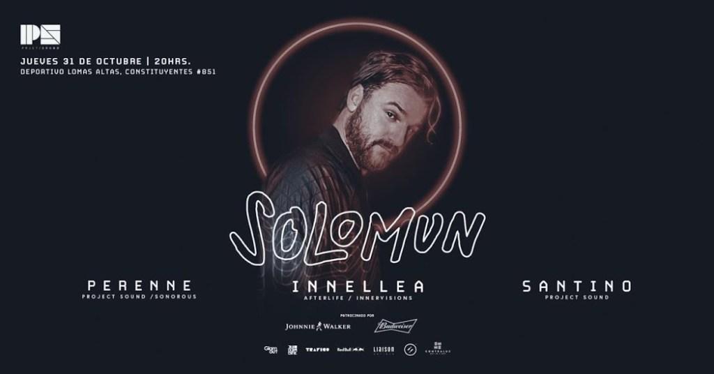 Prepárate para bailar, Solomun viene a nuestro país