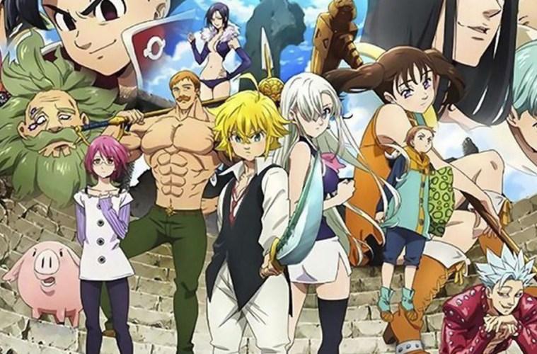 nanatzu no taizai tercera temporada netflix seven deadly sins episodios