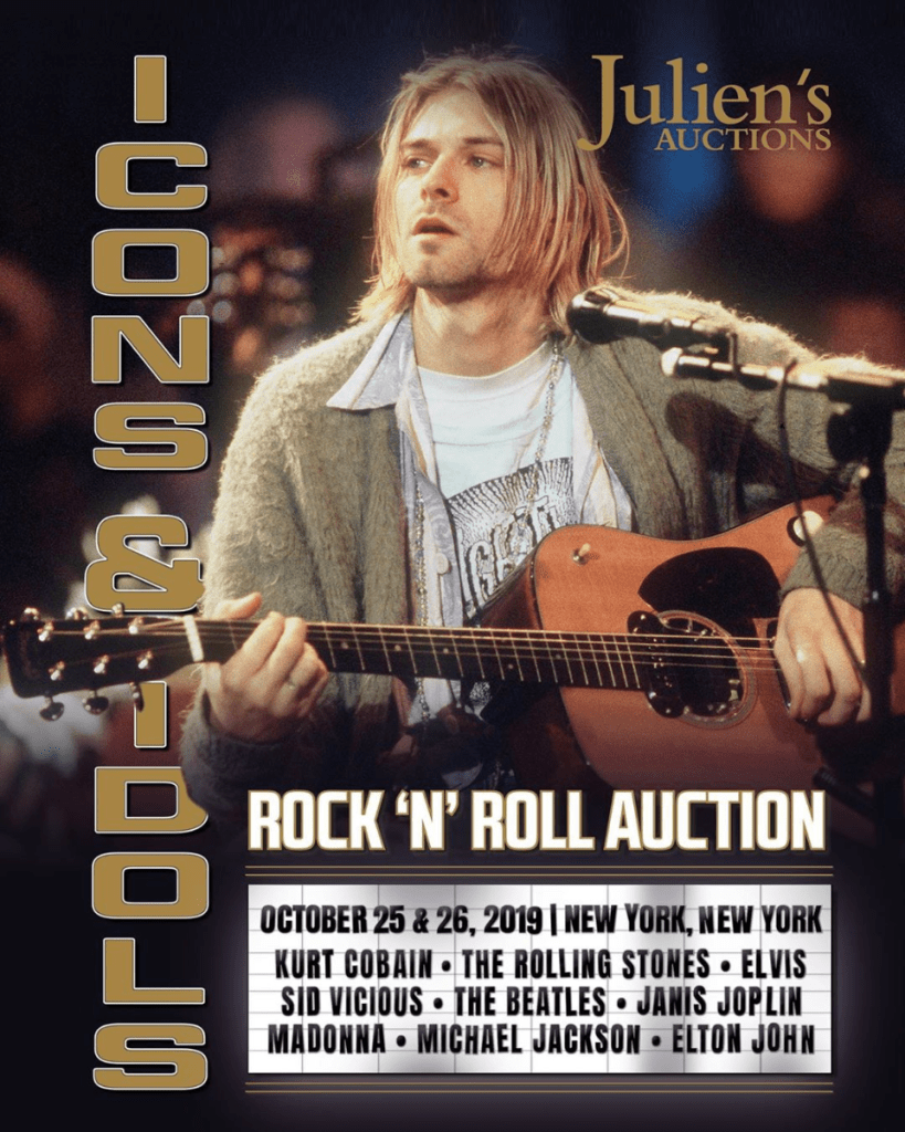 nirvana-kurt-cobain-mtv-unplugged-subasta