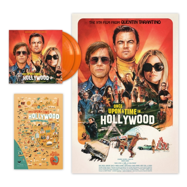 once upon a time in hollywood tarantino blu ray vinilo