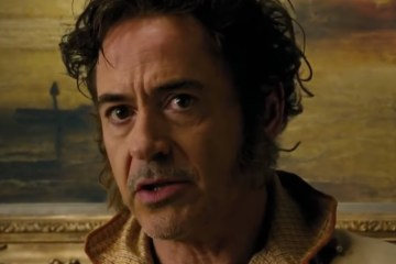 robert downey jr doolittle nueva pelicula tom holland trailer