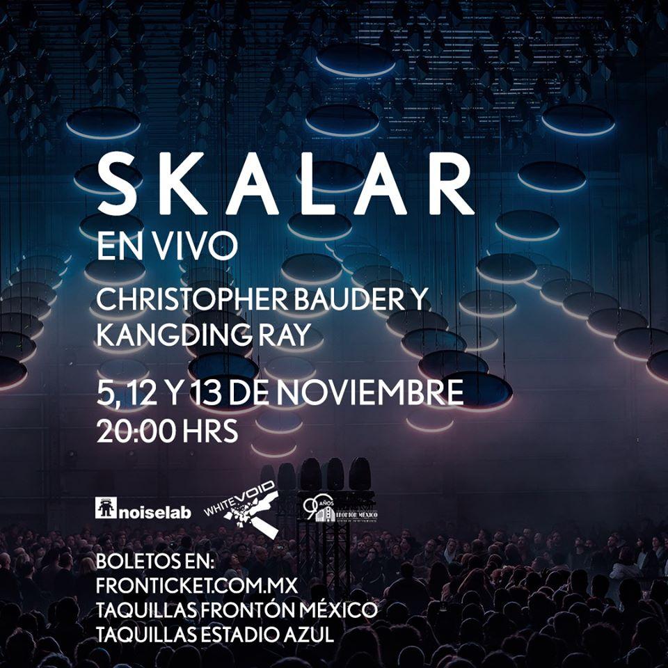 SKALAR: una instalación breve e intensa - #SigueLeyendo